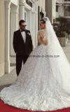 Мантий шарика шнурка платья венчания Z2013 втулки Bridal отвесные длинние
