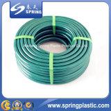 El PVC verde reforzó el jardín/el agua/el manguito reforzado con precio bajo