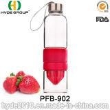 700ml熱いレモンJuicerの水差し、普及したガラスフルーツの注入のびん(PFB-902)
