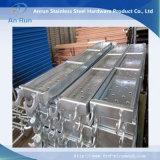 Fitas de escada de metal perfurada para grades