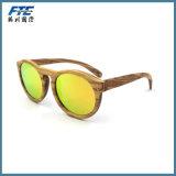 Óculos de sol por atacado Eyewear feito sob encomenda do frame de madeira com logotipo de UR