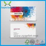 Cartão de visita de luxo de alta qualidade personalizado com logotipo da empresa