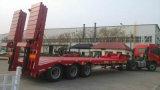 Semi Aanhangwagen van het Bed van Chhgc 3axle 50t de Lage