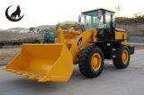 Equipamento de construção carregador da roda de 3 toneladas