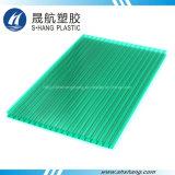 Hoja plástica de la depresión aprobada del policarbonato del SGS con la capa ULTRAVIOLETA