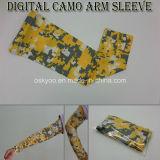 압축 디지털 위장 스포츠 착용은 팔 소매를 Dri 적합했다