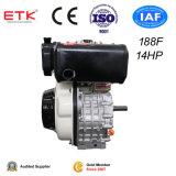 motore diesel 14HP con il filtro esterno (marca di ETK)