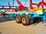 container aanhangwagen, flatbed aanhangwagen van de tri-As van de Prijs van de Fabriek 40FT