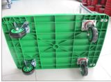 150kg Green Plastic Platform Folding Hand Cart