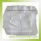 Wc de papel descartável impermeável capa do assento