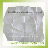 Papel desechable impermeable Cubierta de asiento del inodoro