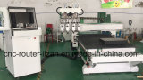 4 Spindeln CNC-Holzbearbeitung-Maschine