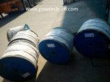 Conductor trenzado de aluminio reforzado con acero (ACSR)