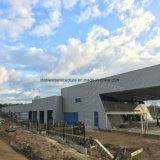 製造業者からのプレハブの鉄骨構造の研修会の建物