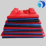 Sacos plásticos do t-shirt do pedido feito sob encomenda no bloco