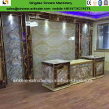 Painel de mármore artificial laminado PVC/cobertura produzindo a linha