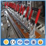 Механически Screw-Type шелковая ширма протягивая машину