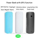 LED 플래쉬 등 V20를 가진 2g/GSM GPS 추적자 힘 은행