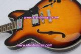 Полое тело/двойные отверстия f ядровые/гитара Afanti электрическая (AES335-6)