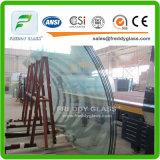 磨かれた端またはゆとり緩和されたガラスまたは超明確な強くされた浮遊物Glasが付いている気性のドアガラス高品質の緩和された