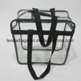Sac clair ou sac d'emballage clair avec la courroie d'épaule