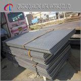 Plaque en acier Checkered galvanisée