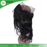 Perruque de lacet de 360 frontaux avec les cheveux humains de Remy d'onde brésilienne réglable de courroie