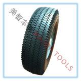 4.10/3.50-6 Rotella solida della carriola della gomma piuma dell'unità di elaborazione