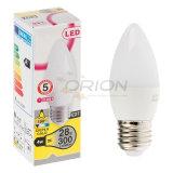 Kerze-Licht der LED-Birnen-Lampen-5W E14 E27 LED für Haus