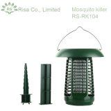 태양 강화된 UV 버그 Zapper, 곤충 살인자, 모기 살인자/덫을 놓는 사람 & LED 정원 램프