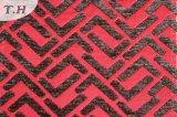 Geometrisches Chenille gesponnenes Gewebe (fth31929)