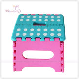 23*19*19cm Sturdy Plastic Foldable Stool per Easy Storage