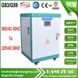 Wechselstrom zu Gleichstrom zu Wechselstrom 50Hz zum 60Hz Frequenzumsetzer mit Lokalisierungs-Transformator
