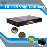 GSM VoIP GoIP Gateway SIP Trunk aan Asterisk IP PBX, GoIP 16 SMS Send en Receive Ussd Command GoIP 16-128, 128 Sims 16 Havens GoIP