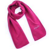 Fashion Polar Fleece Knitted女性スカーフ(YKY4337-1)