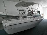 釣船外モーターのディンギーのためのLiya 5.1mのガラス繊維のボート