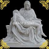 Statue en marbre, la sculpture en pierre (GS-S-001)