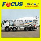 Misturador concreto do caminhão HOWO do chassi automático da fábrica 14cbm