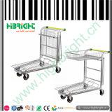 Carrello logistico del carrello del magazzino d'acciaio placcato zinco