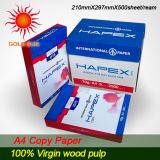 100% de polpa de madeira de Escritório de papel de cópia A4 (CP006)