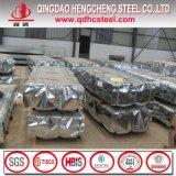 Tôle d'acier ondulée de zinc d'ASTM A653 Z100 pour la toiture