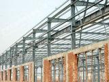 Magazzino chiaro prefabbricato/gruppo di lavoro/fabbrica della struttura d'acciaio