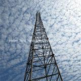 Tour par radio triangulaire en acier de Telcom de tour de transmission d'antenne
