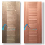 Pele da porta da alta qualidade com a folha estratificada da melamina da madeira compensada do MDF HDF