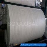 85GSM pp a enduit le tissu blanc en roulis