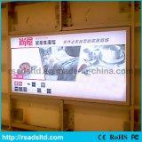 Tessuto approvato del Ce LED che fa pubblicità a Lightbox