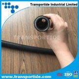 Boyau en caoutchouc hydraulique extérieur enveloppé DIN En856 4sh/4sp