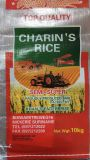 Bolso de alimentación a granel tejido PP, bolso de alimentación de pollo 50kg, bolso de empaquetado del forraje