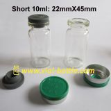 Korte 10ml Vial 8ml Glass Vial met Blue GLB en Stopper