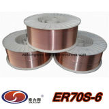 Сваривая потребляемое сваривая Wrie (AWS A5.18 ER70S-6)